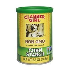 Clabber Girl Gluten Free Non GMO Corn Starch - 6.5oz