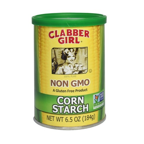 Clabber Girl Gluten Free Non GMO Corn Starch - 6.5oz - image 1 of 4