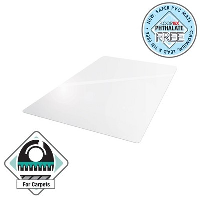 "36""x48"" Rectangular Advantage Mat for Low Pile Carpets - Cleartex"
