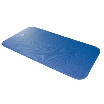 Airex 32-1236B Corona 185 Workout Exercise Fitness Non Slip 0.6 Inch Thick Foam Floor Mat Pad for Yoga or Pilates at Home or Gym, Blue