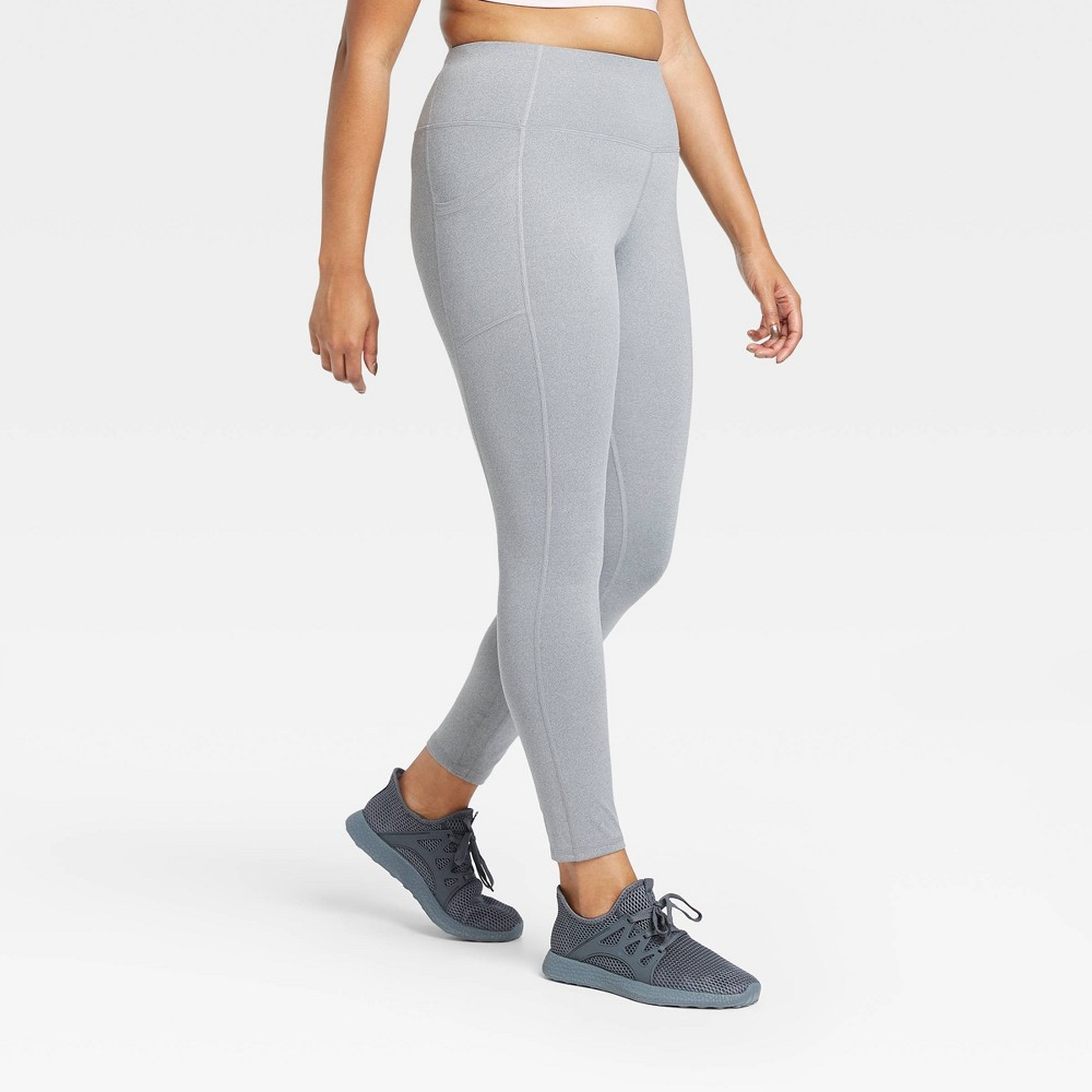 Women 39 S Sculpted High Waisted Leggings 32 34 All In Motion 8482 Charcoal Gray S Long