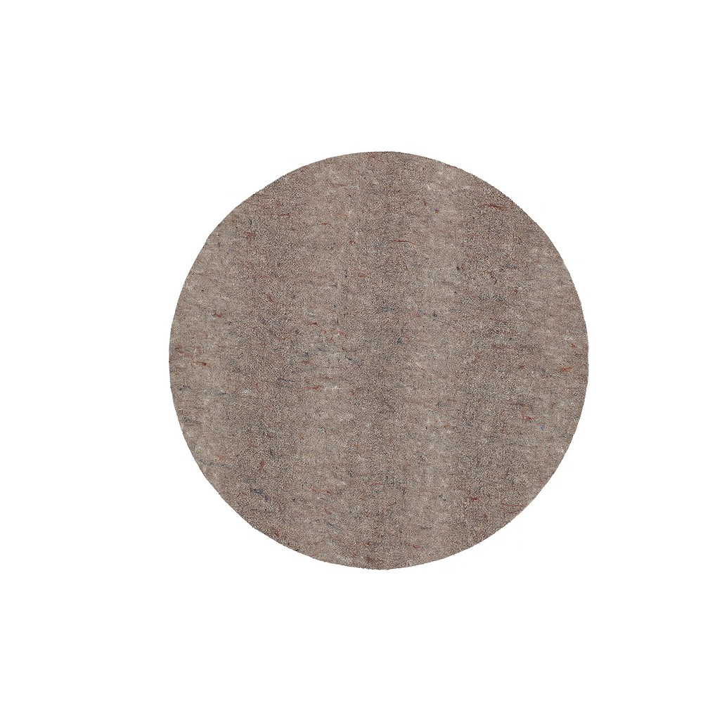 Image of 4'x4' Solid Rug Pad Brown - Mohawk, Gray
