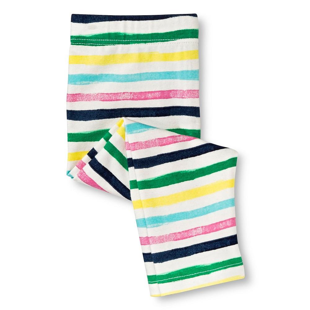 Circo Baby Girls' Leggings - Multi Stripe 18 M, Size: 18M, Ivory