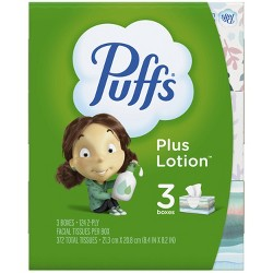 Puffs Plus Lotion Facial Tissue