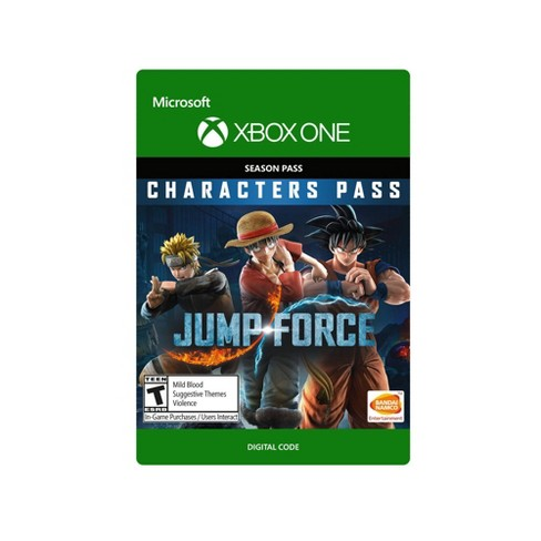 Jump Force: Characters Pass - Xbox One (Digital) - image 1 of 1