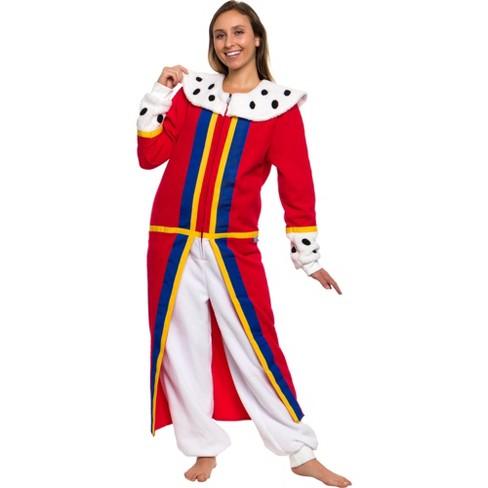 FUNZIEZ! - Medieval Queen Slim Fit Women's Novelty Union Suit - image 1 of 4