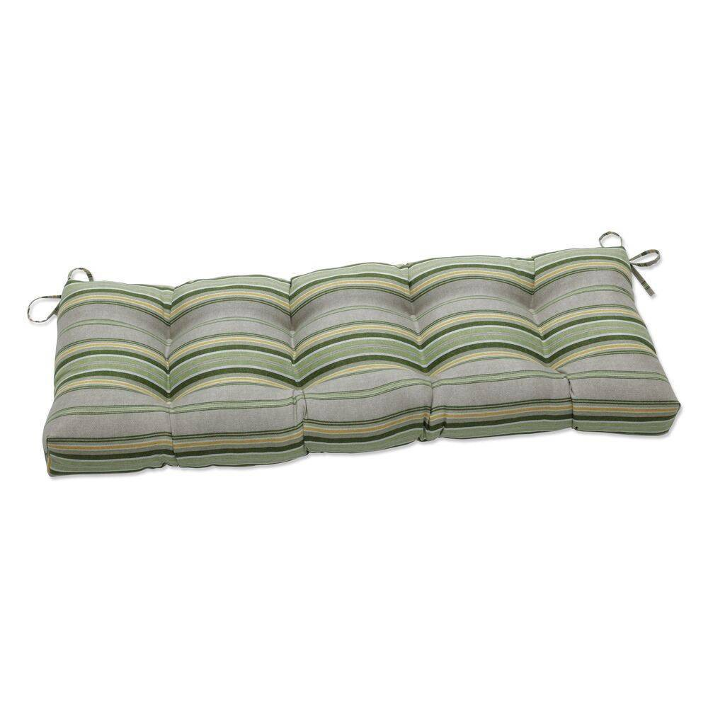 48 34 X 18 34 Outdoor Indoor Tufted Bench Swing Cushion Terrace Sunrise Green Pillow Perfect