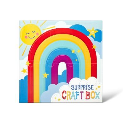 61pc Surprise Craft Box Rainbow - Mondo Llama™