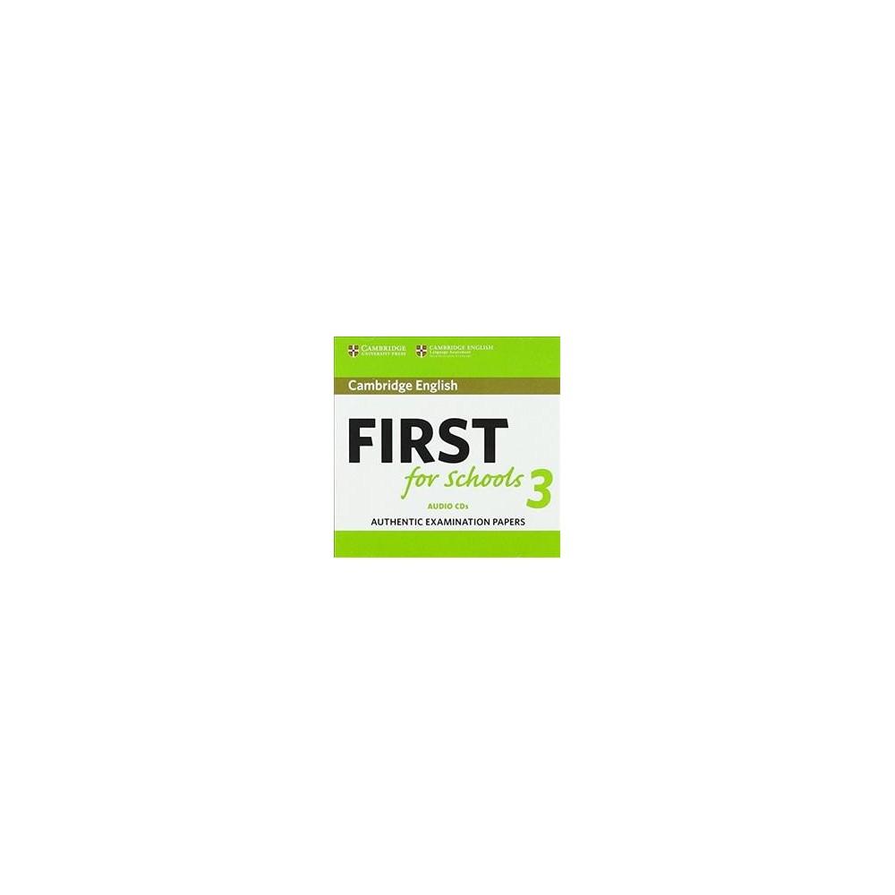 Cambridge English First for Schools 3 - (CD/Spoken Word)