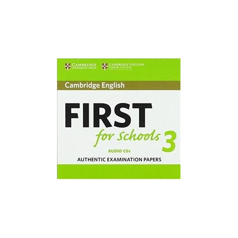 cambridge english first  Cambridge English First For Schools 3 - (CD/Spoken Word) : Target