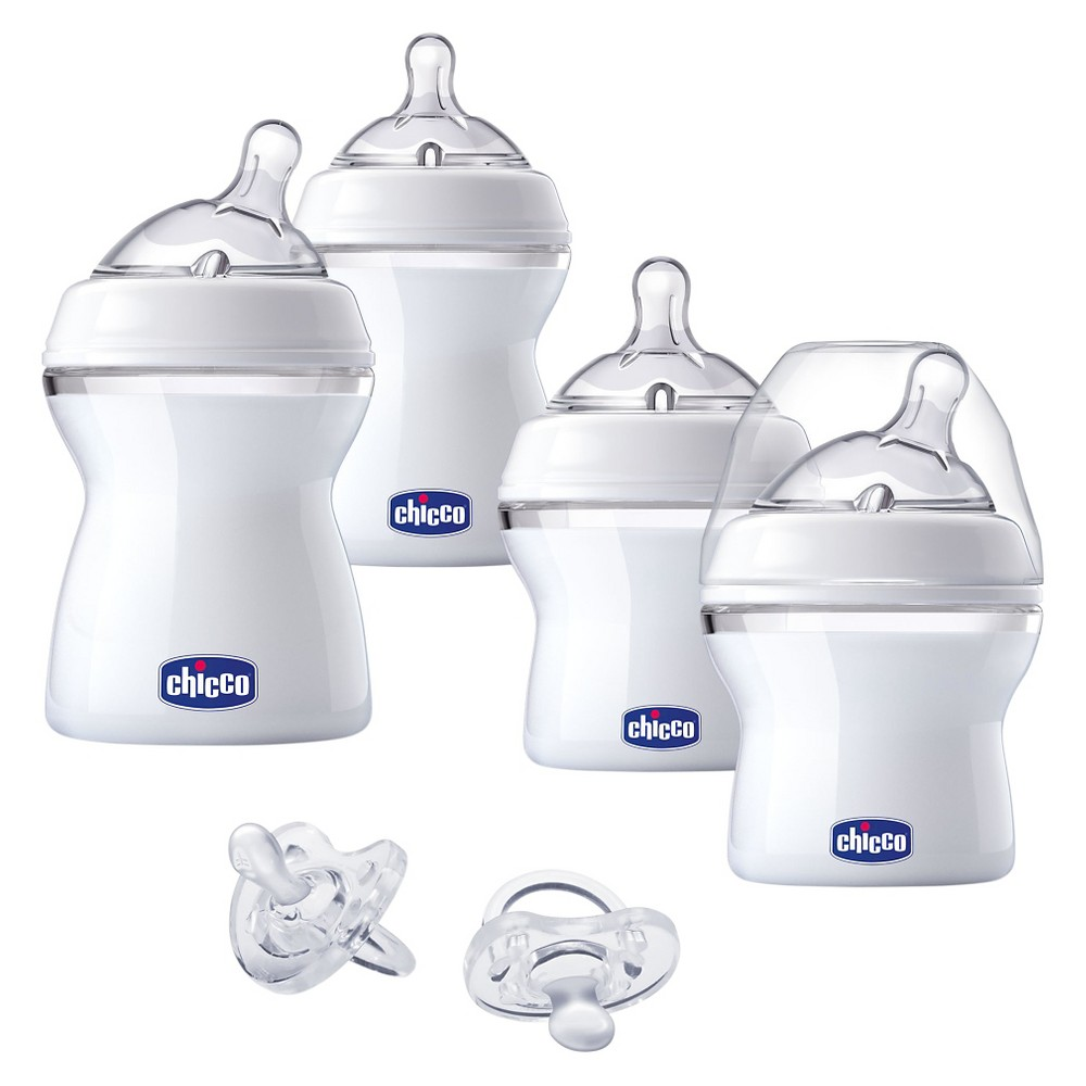Chicco NaturalFit Gift Set - Baby's First Gift Set, Medium Clear
