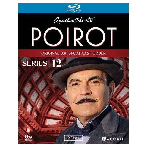Agatha Christie S Poirot Series 12 Blu Ray Target