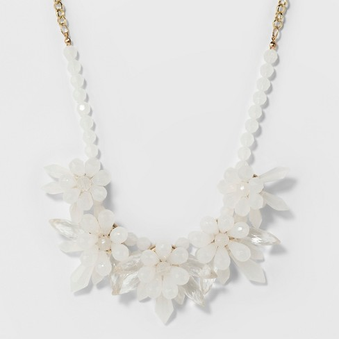 SUGARFIX by BaubleBar Floral Motif Statement Necklace - image 1 of 3