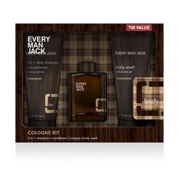 Men's Every Man Jack Sandalwood Cologne Kit - 3pc