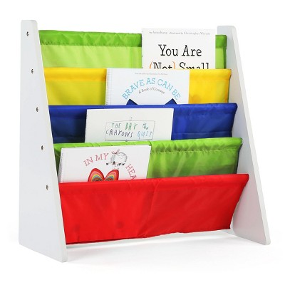 Book Rack - Summit Collection - White/Primary - Tot Tutors