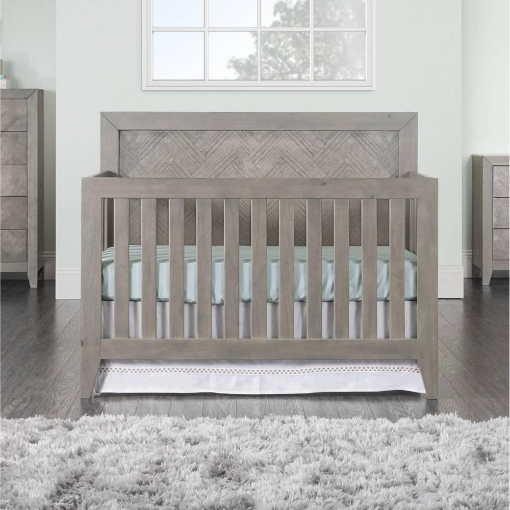 Child Craft Kieran Convertible Crib Crescent Gray