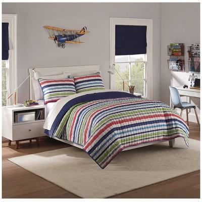 Froot Loops Striped Quilt Set - Waverly Kids