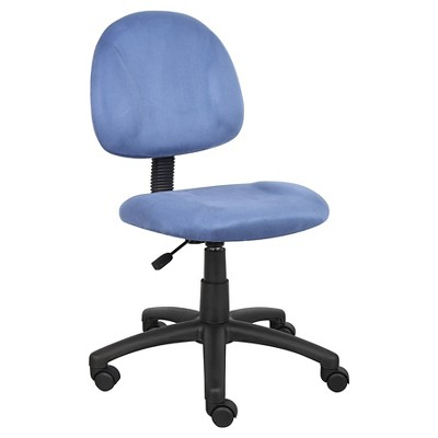 Microfiber Deluxe Posture Chair - Boss Office Products