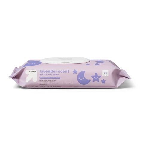 Lavender Baby Wipes - Up&Up™ (Select Count) - image 1 of 3