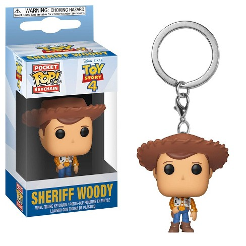 Funko Pocket Pop! Keychain: Toy Story 4 - Woody Collectible Figure - image 1 of 1