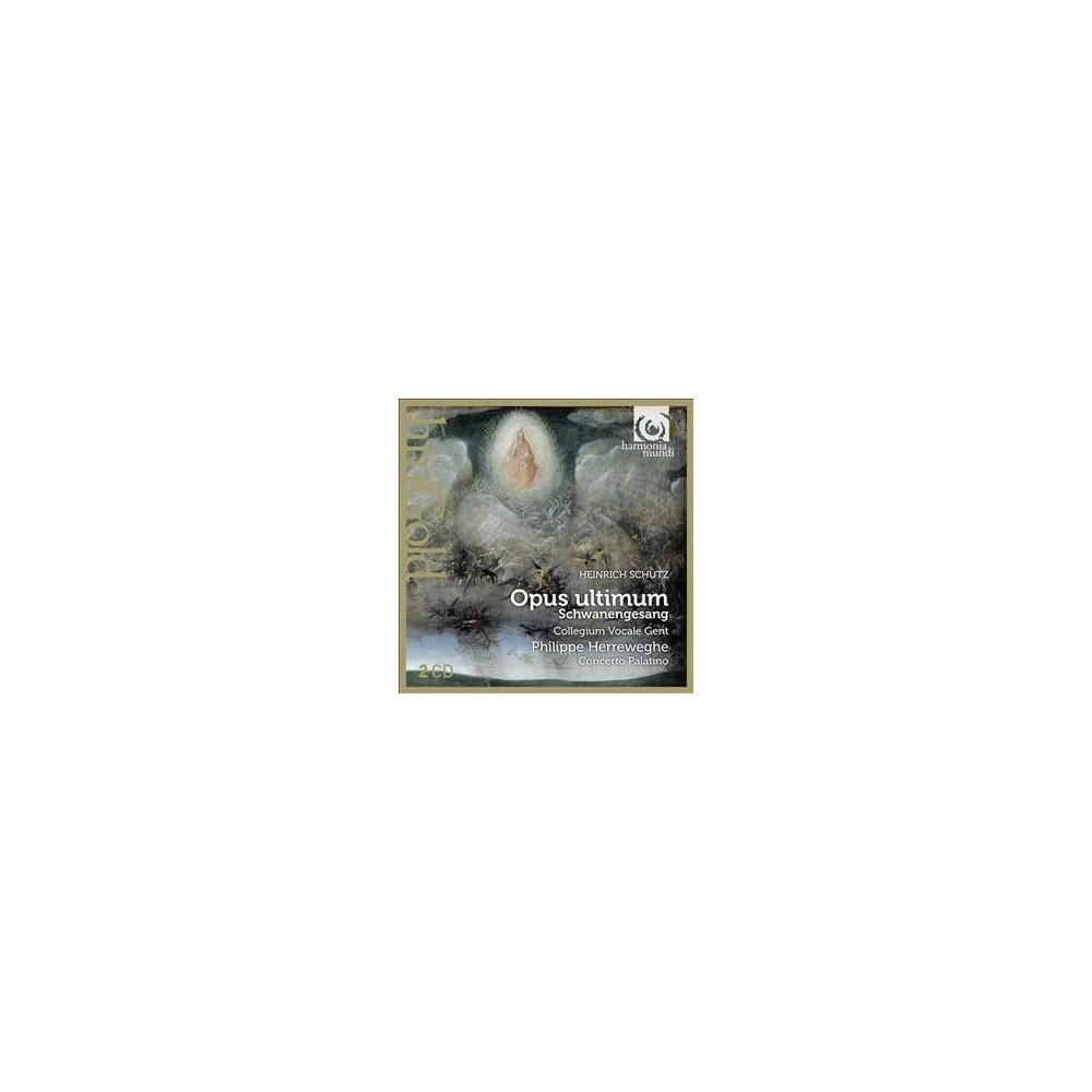 Philippe Herreweghe - Schutz:Opus Ultimum (CD)