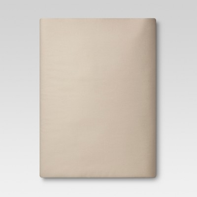 Ultra Soft Fitted Sheet (Queen)Brown Linen 300 Thread Count - Threshold™
