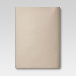 Ultra Soft Fitted Sheet (Twin) Brown Linen 300 Thread Count - Threshold™