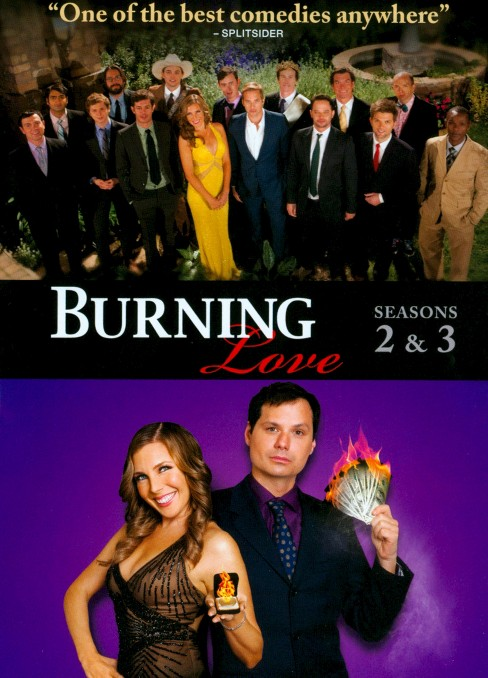 Burning love:Complete second & third (DVD) - image 1 of 1
