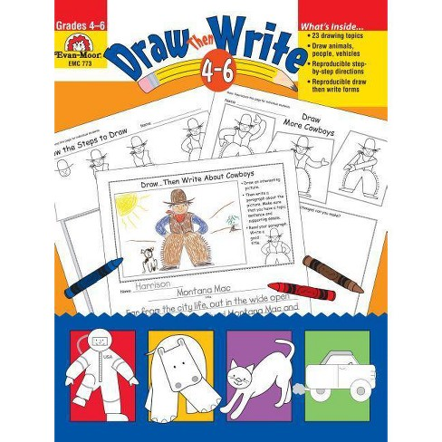 Draw Then Write - (Paperback) - image 1 of 1