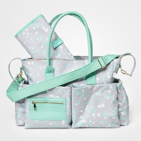 Tote Diaper Bag Dots