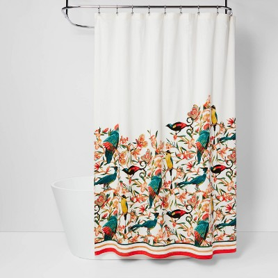 Flora/Bird Shower Curtain - Opalhouse™