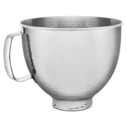 KitchenAid 5qt Hammered Stainless Steel Bowl - Stainless Steel