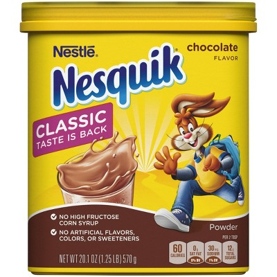 Nestle Nesquik Chocolate Flavor Powder - 20.1oz