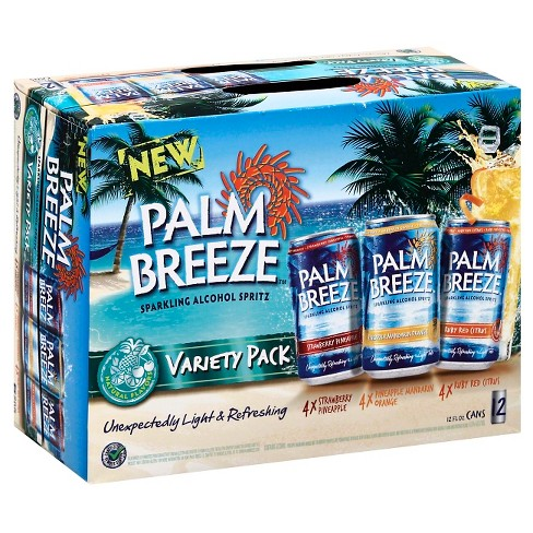 Palm Breeze Variety Pack - 12pk/8 fl oz Cans - image 1 of 1