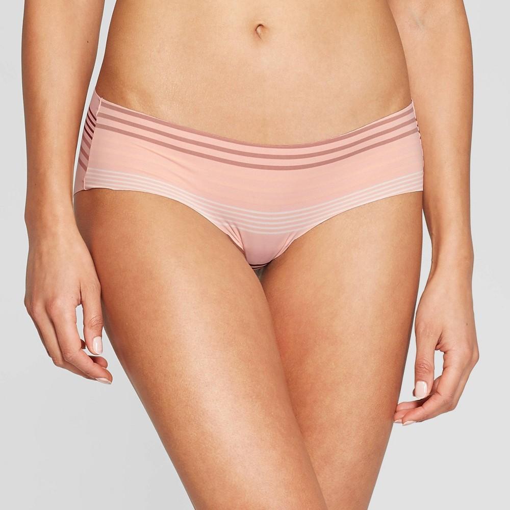 Women 39 S Striped Laser Cut Hipster Underwear Auden 8482 Cosmetic Stripe S