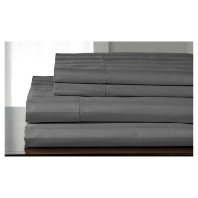 Andiamo Cotton Sheet Set 500TC (Queen)Gray