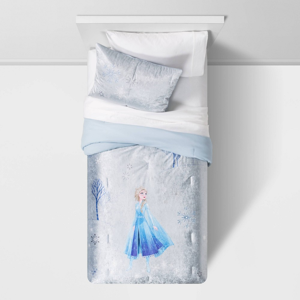 Image of 2pc Twin Frozen 2 Fearless Journey Quilt Set - Disney store