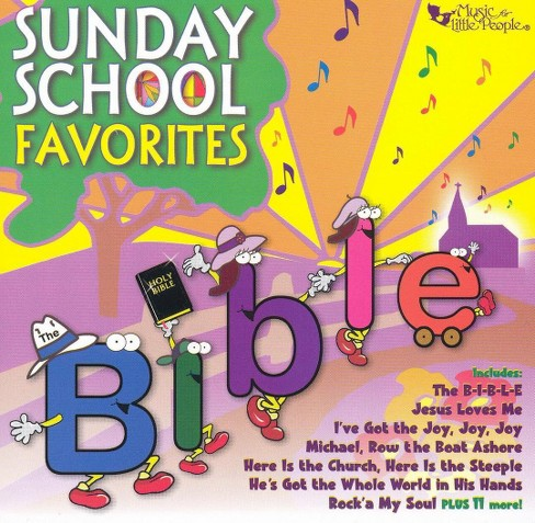 Various - Sunday school favorites (CD) - image 1 of 1