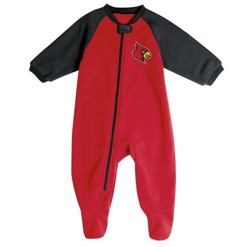NCAA Louisville Cardinals Infant Blanket Sleeper - image 1 of 2