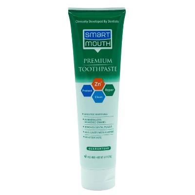 SmartMouth Premium Zinc Mint Toothpaste - 6oz