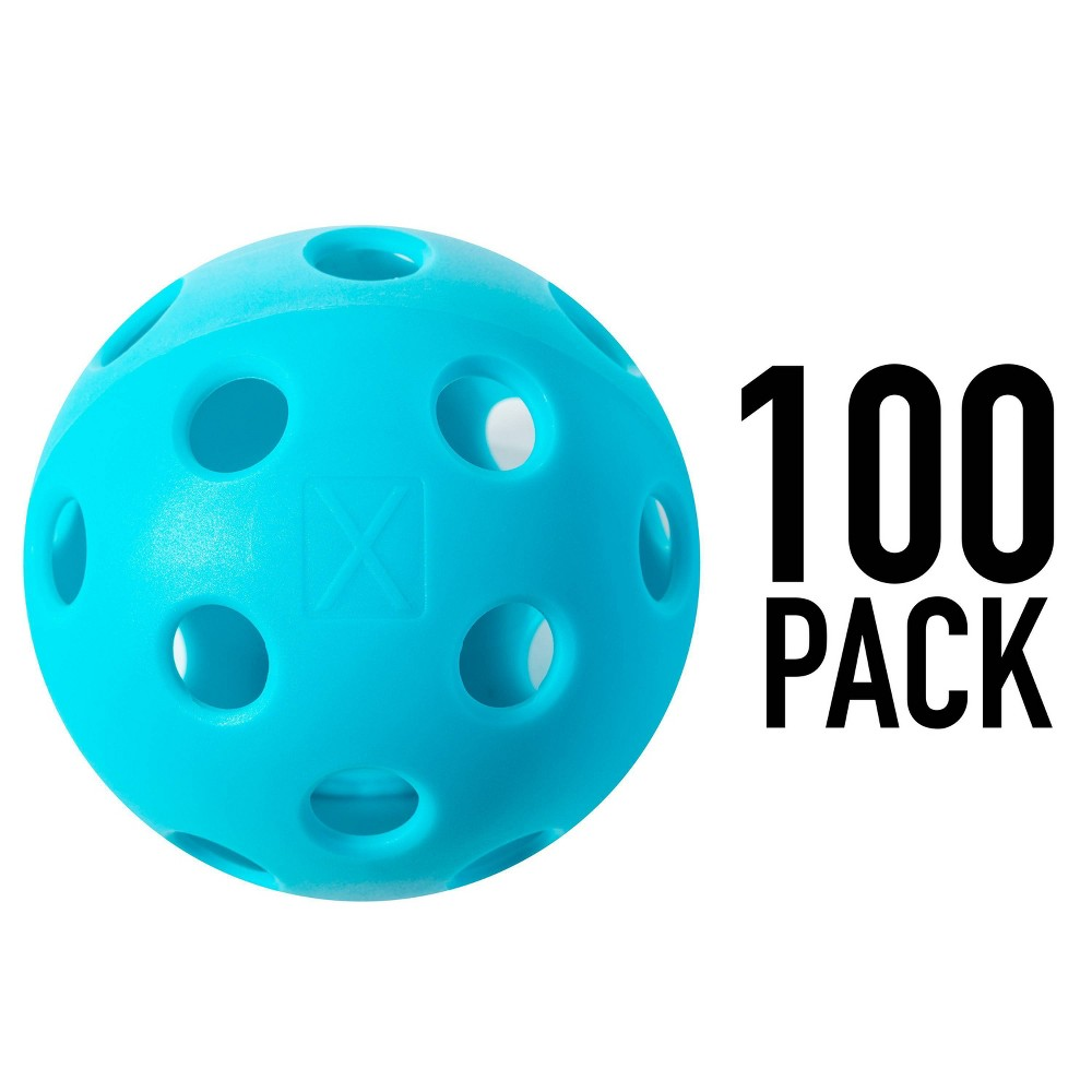 Franklin Sports 100pc X 26 Indoor Pickleballs Blue