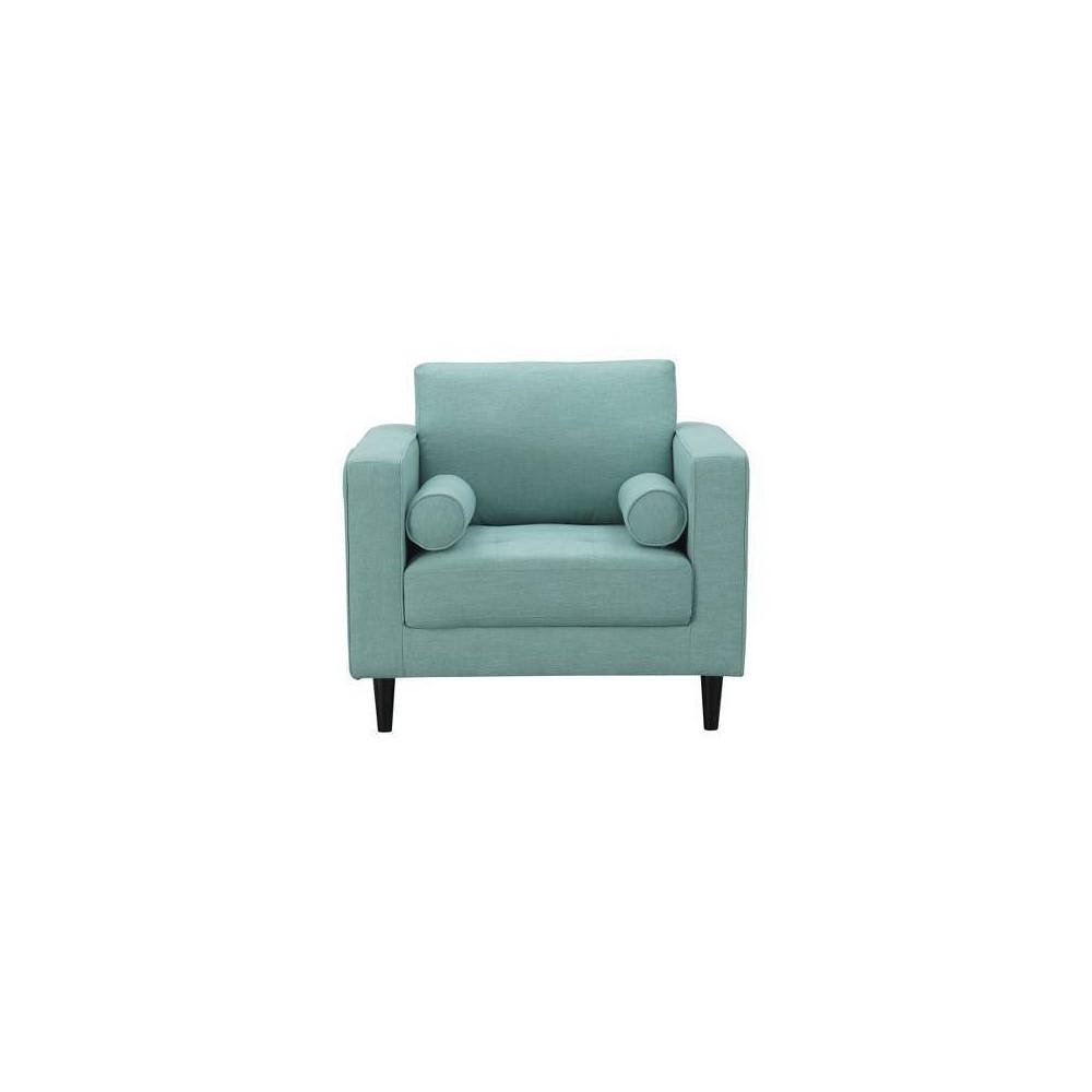 Arthur 1 Seat Tweed Armchair Mint Green - Manhattan Comfort