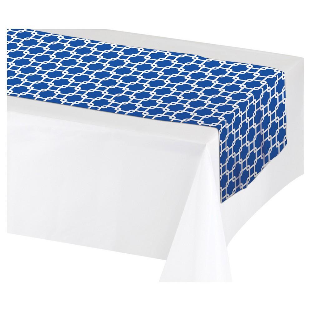 Cobalt Table Runner, Blue