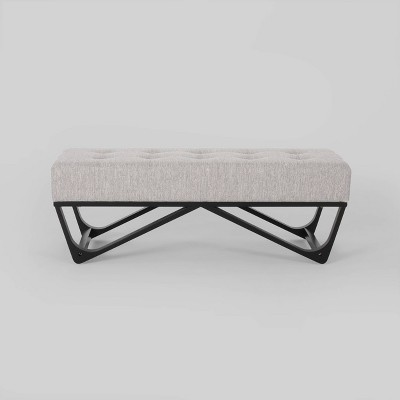 Assisi Contemporary Ottoman Bench - Christopher Knight Home