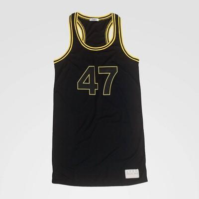 NCAA Iowa Hawkeyes Racerback Dress - Black L