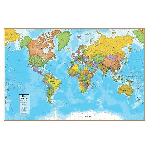 Round World Products World Map Target