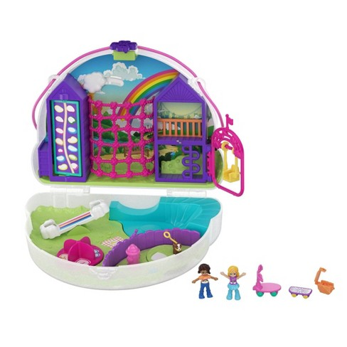 Polly Pocket Rainbow Dream Purse Fanny Pack Playset - image 1 of 4