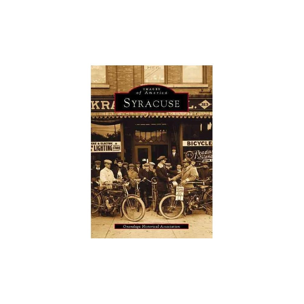 Syracuse By Onondaga Historical Association Paperback
