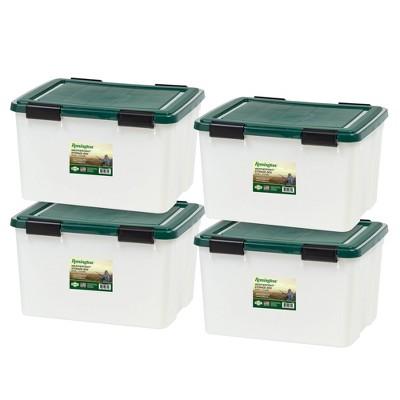 IRIS 4pk Remington Weathertight Storage Box