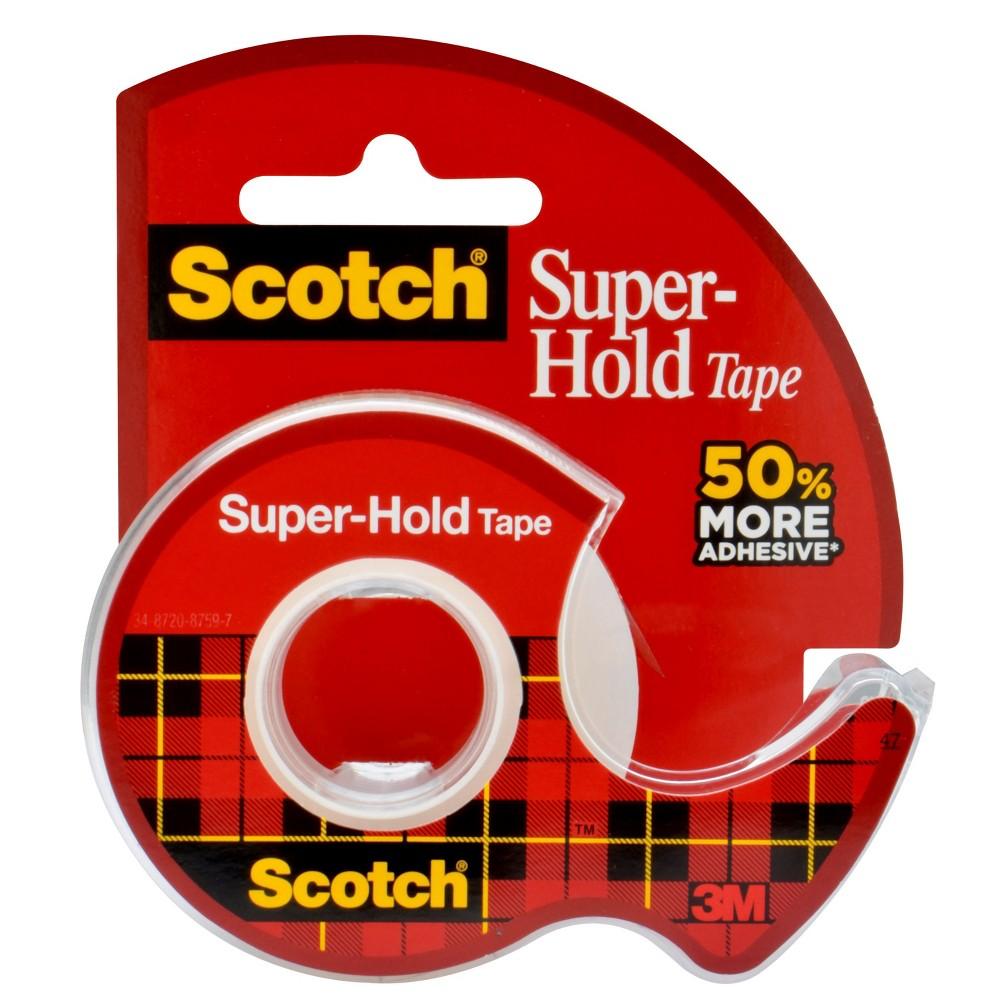 Super-Hold Tape - Scotch, Clear